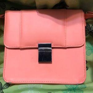 Bright Coral Crossbody Bag